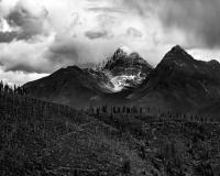 Mountain PeakBW